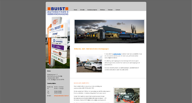 Webdevelopment buistautoschade.nl